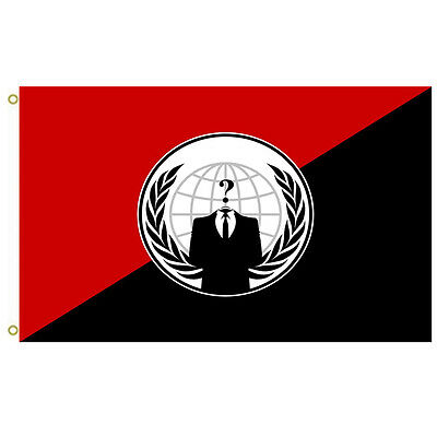 Anonymous Anarchist  Alternative flag  Anonymous Flag outdoor Flying banner