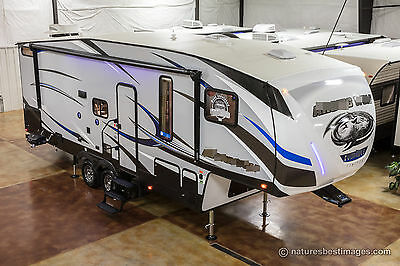 New 2018 265DBH8 Lite Light Weight Bunkhouse 5th Fifth Wheel Bunks Auto Leveling