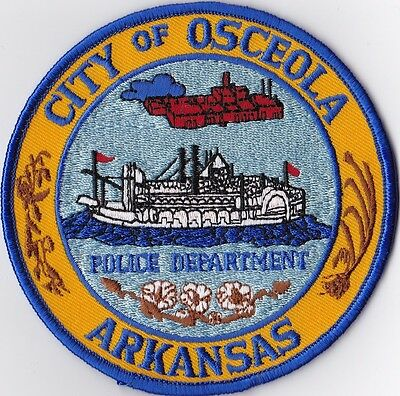 City of Osceola Police Patch Arkansas AR NEW!!
