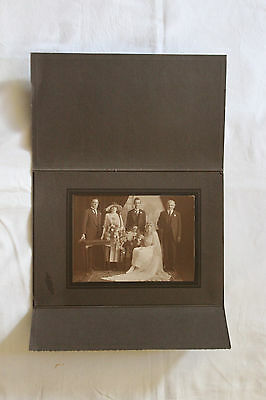 Antique Vintage photo 1910s/1920s Wedding Photo Large format