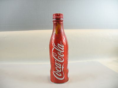 Vancouver 2010 Winter Olympics Coca Cola Red Aluminum Bottle empty