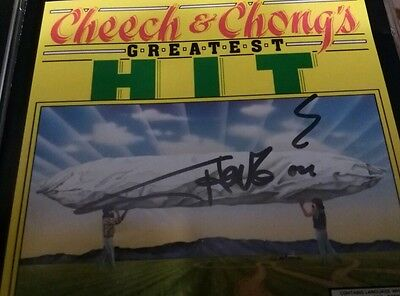 Cheech & Chong Greatest Hit Tommy Chong Autographed CD Signed High Times 420