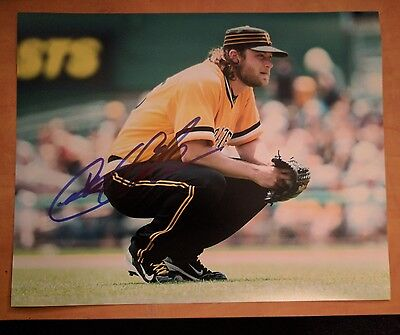 Gerrit Cole Signed 8x10 Photo Pittsburgh Pirates Proof