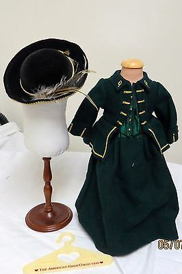 Pleasant Company American Girl Felicity 1994 Riding Habit & Hat Great Feather