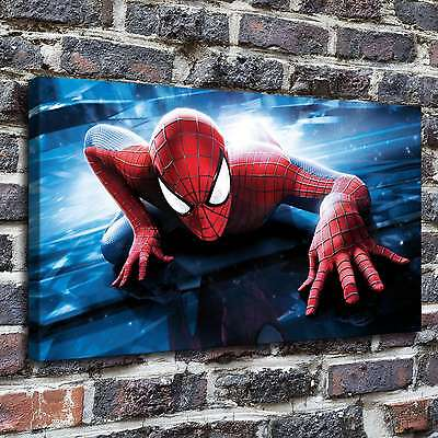 """12""""x20""""Spider man Paintings HD Print on Canvas Home Decor Wall Art Picture poste"""