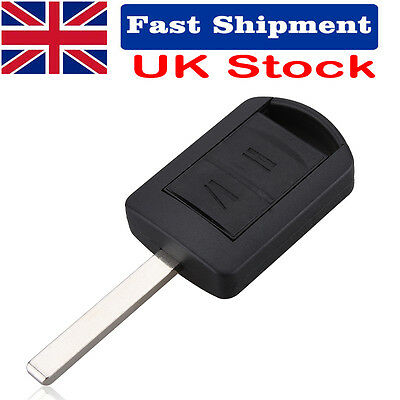 Replacement 2 Button Key Shell Case Fob Remote For Vauxhall Corsa Meriva Opel