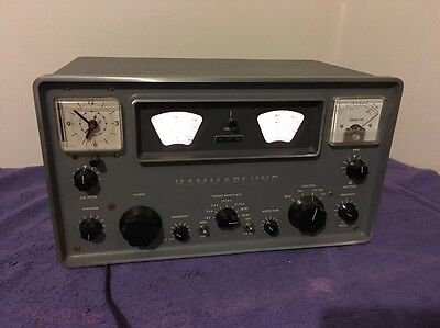 Vintage Serviced Hammarlund HQ-110 Communication Receiver Ham VHF Radio