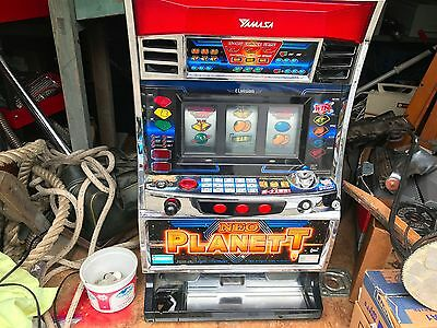 JAPANESE NEO - PLANET SLOT MACHINE YAMASA with tokens