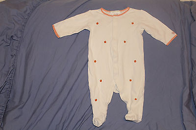 Janie and Jack Infant Sleeper Unisex Size 3-6 months Halloween or Thanksgiving.