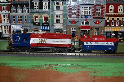 Lionel O Scale Norfolk and Western 1776 Diesel Loco with Matching Caboose