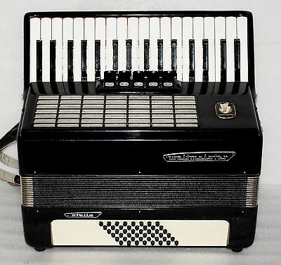 Weltmeister Stella 48 bass  Accordion Akkordeon Fisarmonica Very good