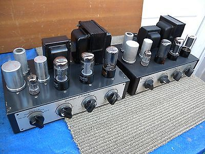 x2 Grommes tube Mono Integrated model LJ4 made in u.s.a w/tested good.