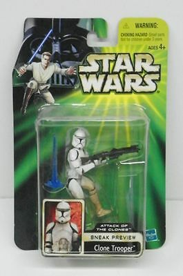 """Star Wars Aotc Clone Trooper """"Sneak Preview""""  Action Figure"""