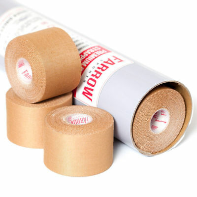 48 Rolls Premium Rigid Sports Strapping Tape 50mmx13.7m Athletic Muscle Support