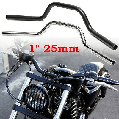 1″ 25mm Motorcycle Handlebars Drag Bars For Harley Davidson Sportster 883 1200