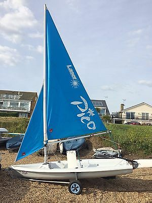 Laser Pico Sailing Dinghy (including launching trolley)