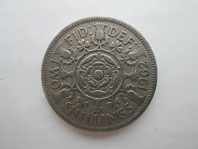 1962 Elizabeth II Florin / Two Shillings Coin