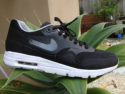 EXC COND Womens Nike Air Max 1 Black OG Trainers Sneakers Sports Shoes Size 7.5