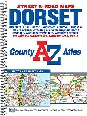 Dorset County Atlas by A-Z Maps 2017