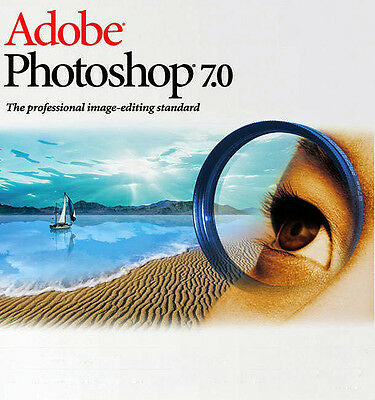 Adobe Photoshop 7.0 Photo Editing Software For Windows(Full Version with key)DVD