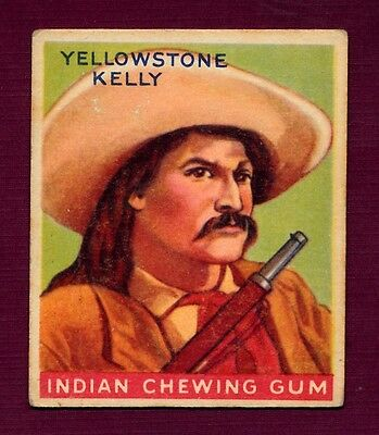 "Indian Gum Card - ""Yellowstone Kelly"" (Rarely Seen) - (R73)"