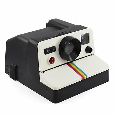 Retro Camera POLAROLL Polaroid Toilet Paper Roll Holder Home Deco Tissue Box