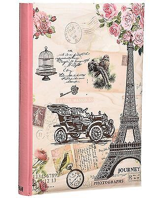 Large Memories Memo Slip In Case Photo Album For 300 Photos 4 x6 Travel By Arpan