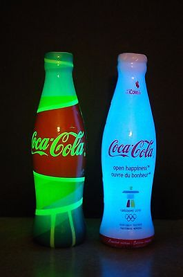 Vancouver 2010 Olympic Coca-Cola Limited Edition Plastic Lantern Pop Bottles