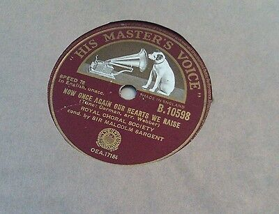 Vinyl record - Royal Choral Society conducted by Sir Malcolm Sargent