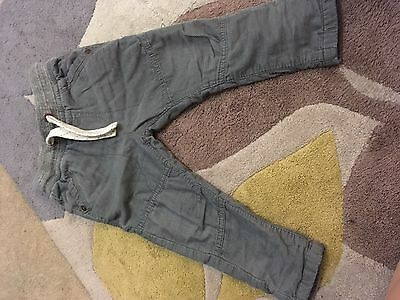 Next Grey Cords Size 12-18 Months