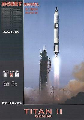 Hobby Model 83 - Rocket Titanium II with Satellite Gemini 1:3 3