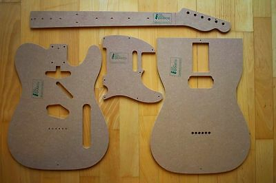 '53 Tele Templates for Guitar Building f.e. Fender Telecaster Repair