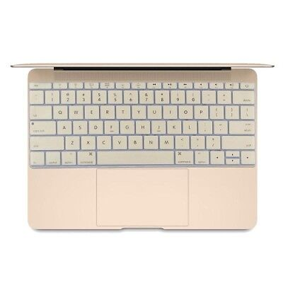 ELETTRONICA Gold Soft 12 inch Silicone Keyboard Protective Cover Skin for new M