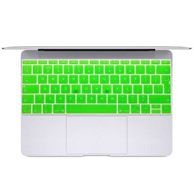 Hi-TECH Green Soft 12 inch Translucent Colorized Keyboard Protective Cover Skin