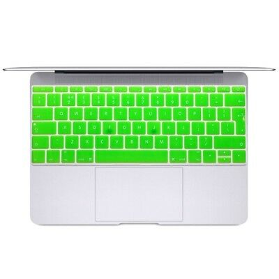 TECH Green Soft 12 inch Translucent Colorized Keyboard Protective Cover Skin fo