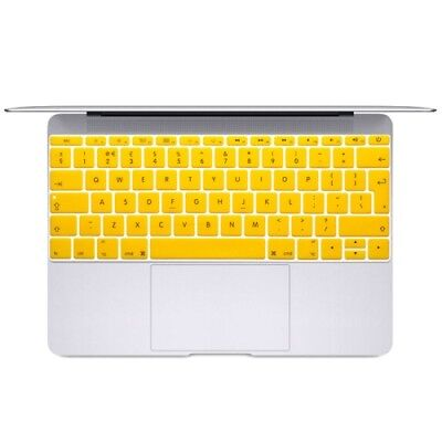 NUOVO Yellow Soft 12 inch Translucent Colorized Keyboard Protective Cover Skin