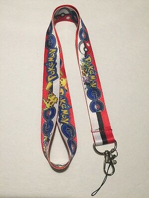 1pc Anime Pokémon Lanyard - NEW