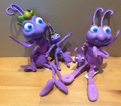 disney pixar its a bugs life soft toy and figure bundle dot and atta