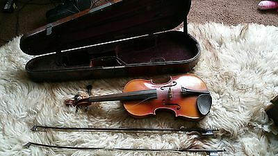 4/4 full size FRENCH ANTIQUE VIOLIN,  JOSEPH BASSIOT, LUTHIER LYON ANNO
