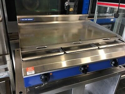 Blueseal Counter Top flat grill, Griddle  1.2 m,  3 Phase/ £1450 INC VAT