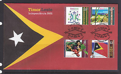 Timor Independance Fdc 2002