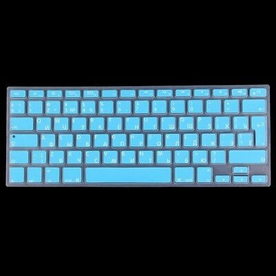TECH Blue Colorized Apple Laptop Silicone Keyboard Protector Protective Film fo