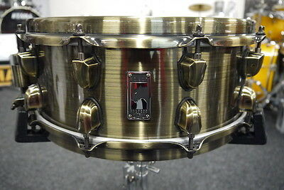 """Mapex Black Panther - 14"""" x 5.5"""" - Brass Cat Snare Drum - Pre-Loved"""