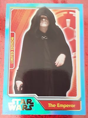 Emperor Journey To Star Wars The Force Awakens Rare Limited Edition Card