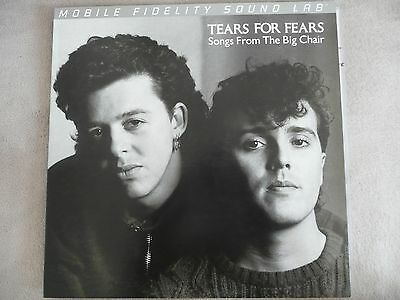 Tears For Fears Songs From The Big Chair Vinyl LP Mobile Fidelity Sound Lab used