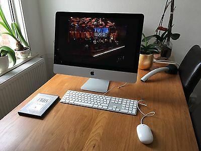iMac, Core i5, 21.5-inch, Mid 2011, A1311, Latest Mac OS Sierra & Word, Excel