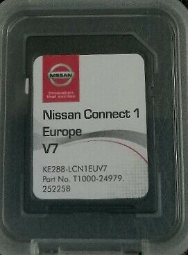 Carte SD ORIGINALE GPS Europe 2017 V7 - Nissan Connect 1 LCN1 (SD CARD)