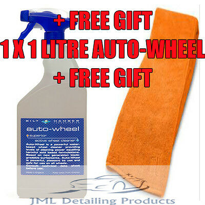 Bilt Hamber Auto-Wheel 1 Litre Alloy Wheel Cleaner Iron Remover Non Acidic +Gift