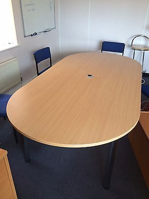 large office meeting table board room conference