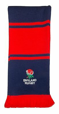 England Rugby Embroidered Bar Scarf